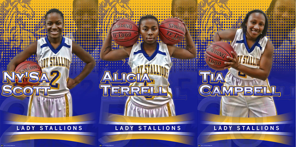 personalized senior banners archives custom sports posters