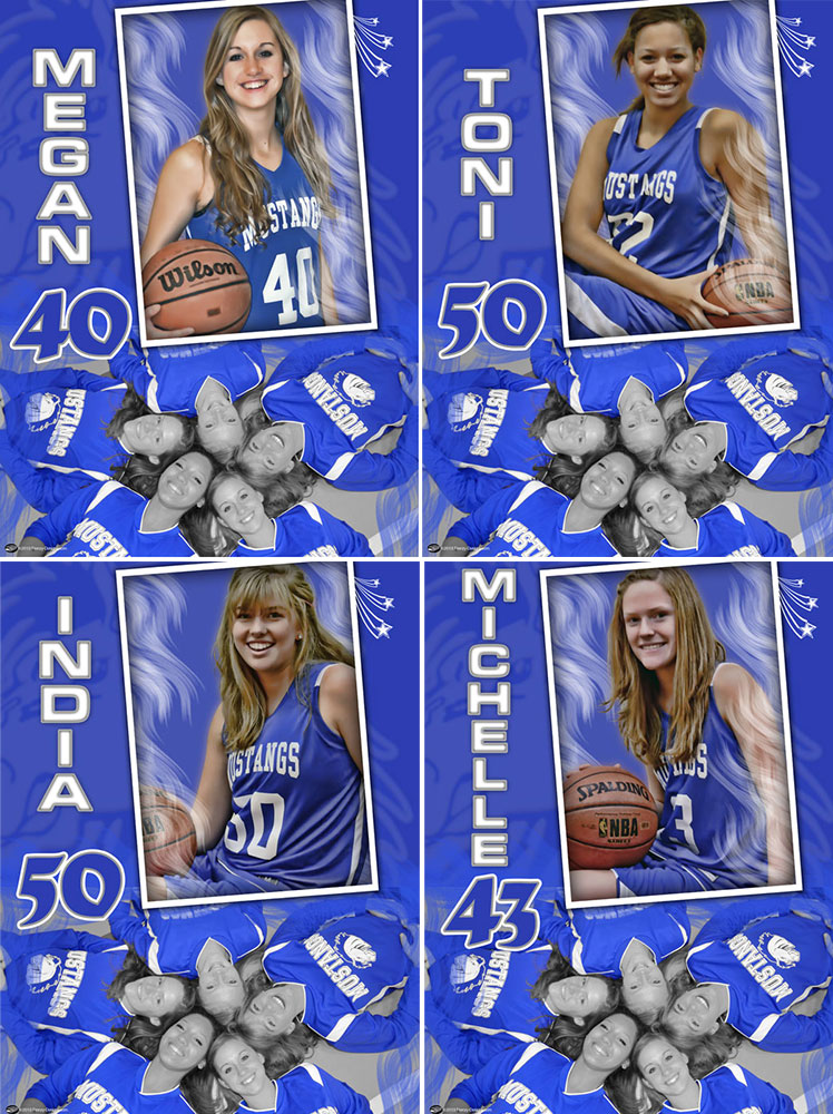 Personalized Basketball Poster – Gift Idea