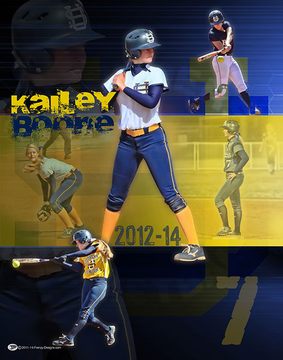 Softball archives personalized sports posters custom team collages senior banners and team for Softball poster ideas