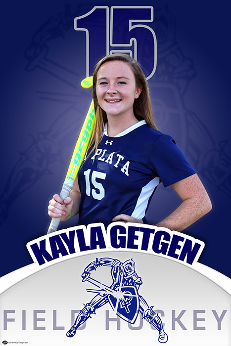 Custom Senior Banners - La Plata High School