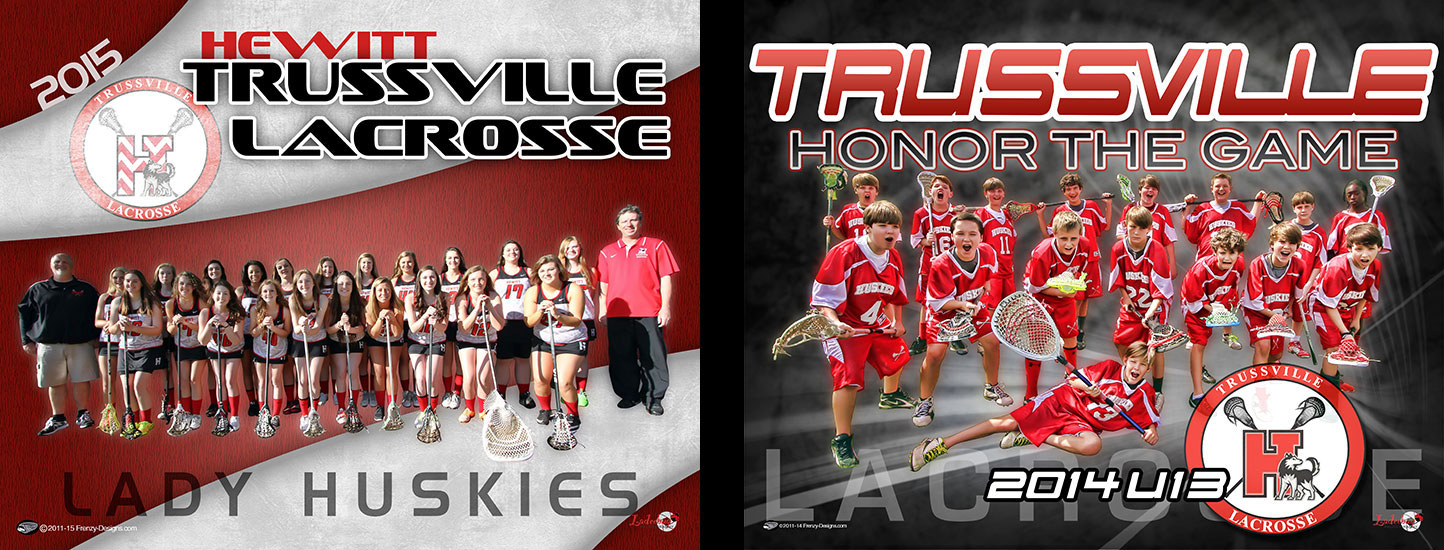 Custom Lacrosse Posters - Trussville