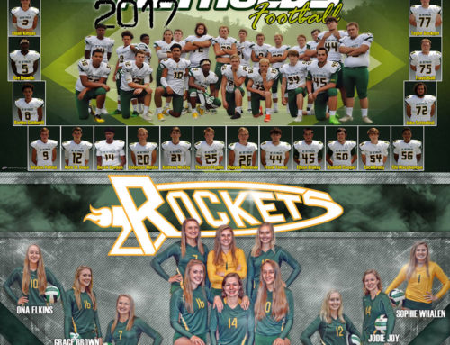 Custom Senior Banners – A.C. Reynolds