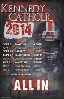 Schedule - 2015 Kennedy Catholic Lacrosse Schedule