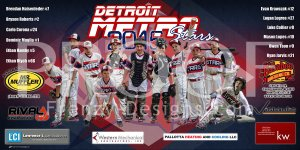 Digital - Baseball - Detroit Metro Stars Baseball Team - Blue