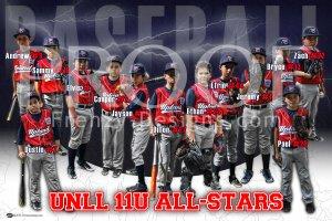 Poster - UNLL 11U All-Stars