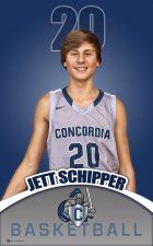 Banners - Concordia Lutheran - 2015-16 Basketball Boys Replacement
