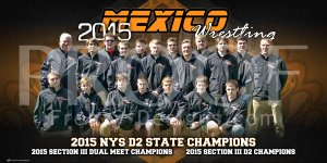 Banner - Mexico High School Wrestling Team