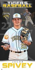 Banner -  Alcovy High School Baseball Senior