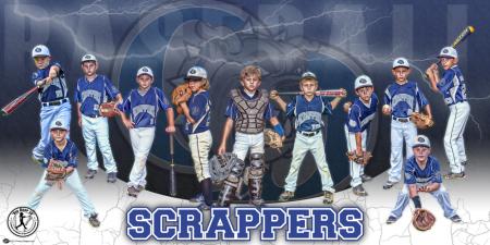 Banner - Team Kado Thunder Baseball Team