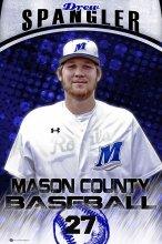 Banner - 2017 Mason County Royals Senior Baseball Players