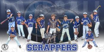 Banner - 2017 Detroit Metro Stars Baseball Team