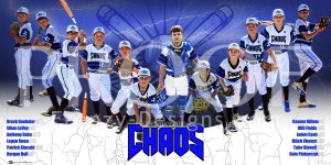 Print - Julington Creek Chaos Baseball Team