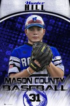 Banner - 2017 Mason County Royals - Hunter Hill