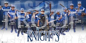 Print - Knights Baseball Team