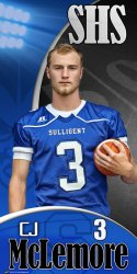Banner - 2018-19 Sulligent High School Senior Football Player