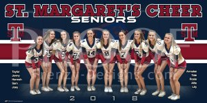 Print - St. Margaret's Episcopal School Senior Cheerleaders