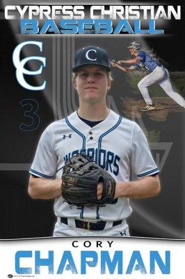 Banner - Cypress Christian Warriors Baseball