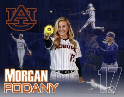 Poster - Auburn University Senior Softball Players