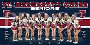 Banner - St. Margaret's Episcopal School 2019-20 Cheerleading