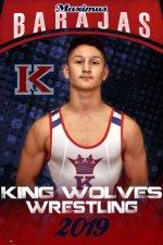 Banner - 2019-20 King High School Wrestling