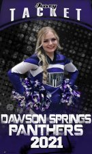 Banner - Dawson Springs Senior Cheer Replacement