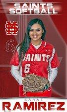 Banner -  Santa Maria High School - 2021 Softball Seniors