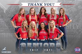 Banner - 2021 Custom Senior Softball Banner - Samford University