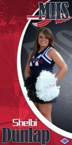Banner - MHS Senior Cheerleader