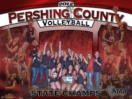 Collage - Pershing County Volleyball