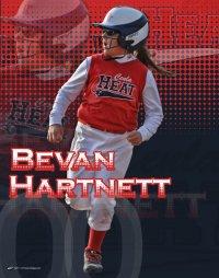 Print - Softball Design - Bevan Hartnett - Cenla Heat