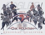 Print - Softball Collage - Oak Mountain High School