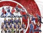 Print - Softball Collage - Oak Mountain Middle School