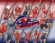 Print - Oak Mountain Middle School Volleyball Team Collage