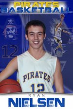 Banner - 2013-14 Tioga Pirates basketball team final