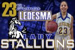 Banner - Lady Stallions Senior Basketball Players