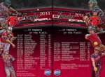 Schedule - 2014 Baseball-Softball Pocket Schedule - SC Sumter