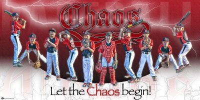 Banner - KHAOS Baseball Team