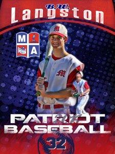 Banner - 2014 Marshall Academy Senior Baseball Players