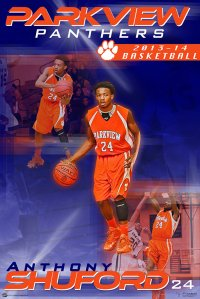 Digital - Basketball - Parkview High School Individual Posters - Final