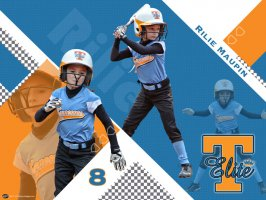 Poster - Rilie Maupin - Tennessee Elite