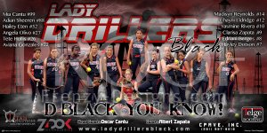 Banner - Lady Drillers Black Softball Team