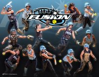 Collage - Fusion Softball - Gradient Divide