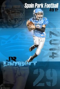 Poster - Spain Park Football Posters