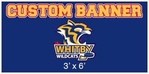 Banner - Whitby Wildcats Hockey Team