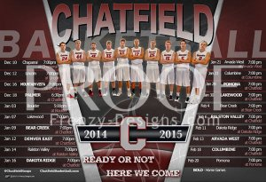 Schedule - Chatfield Senior High School 2014-15 Basketball Schedule - Final