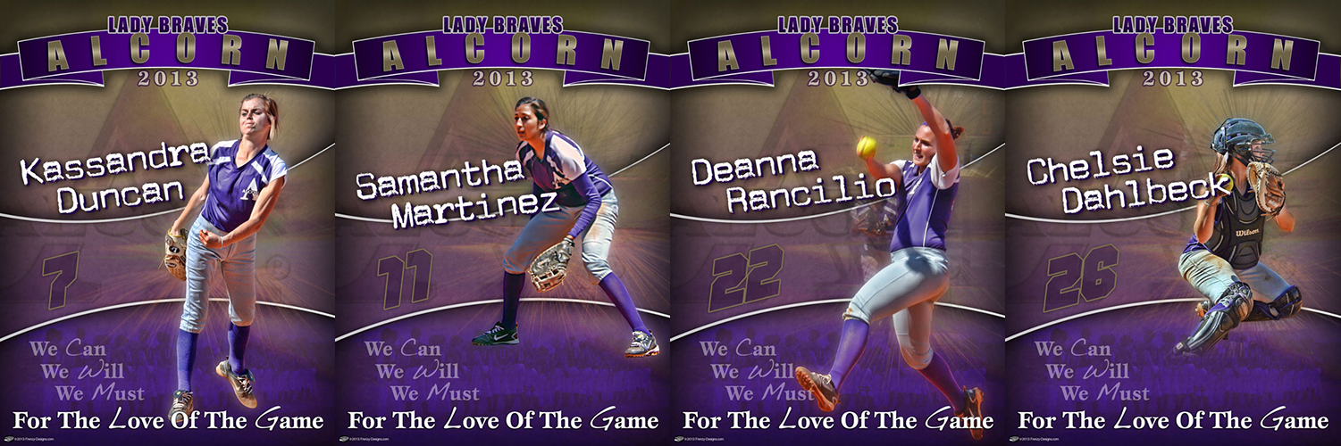 Senior gift archives custom sports posters personalized team collages senior banners and for Softball poster ideas