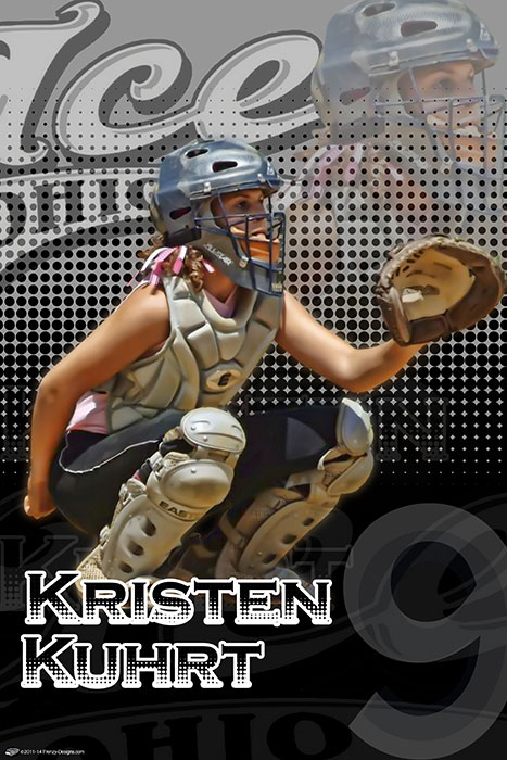 Personalized Softball Poster Archives Custom Sports