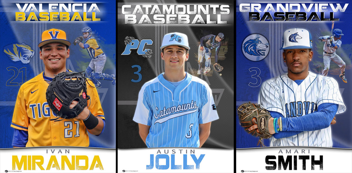 Custom Baseball Banners – Senior Gifts